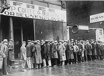 1928 - great depression