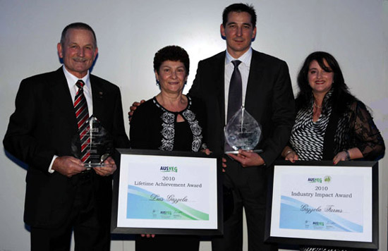 Gazzola Farms receive Industry awards