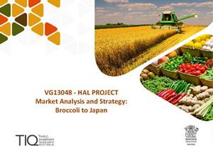 Broccoli to Japan-Market Analysis