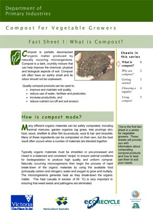 VG01049 Compost Factsheet #1