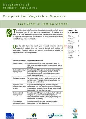 VG01049 Compost Factsheet #3