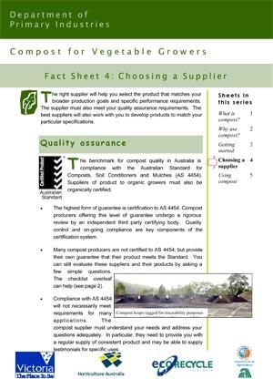 VG01049 Compost Factsheet #4