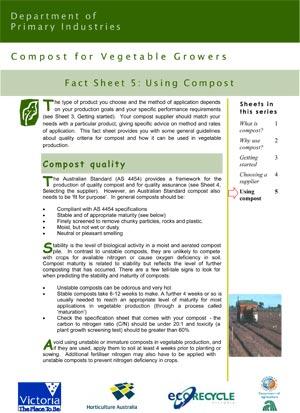 VG01049 Compost Factsheet #5