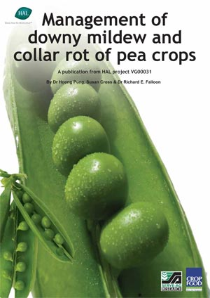 Brochure - Management of downy mildew and collar rot of pea crops