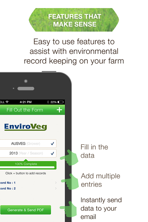 EnviroVeg App is now available