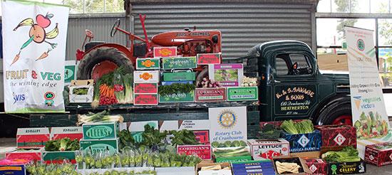 Display at 2012 Food & Wine Festival