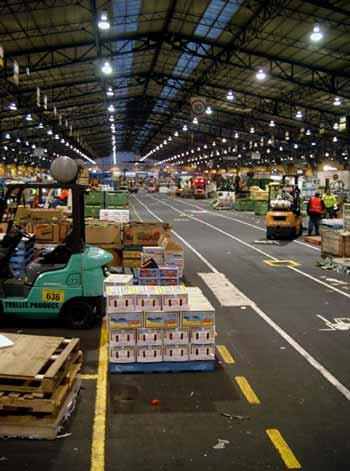 Melbourne Wholesale market - Footscray