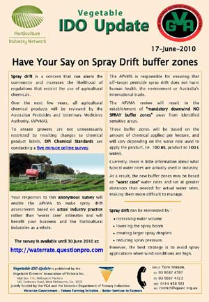DOWNLOAD : Have Your Say on Spray Drift buffer zones : 103kb