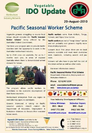 Pacific Seasonal Worker Scheme