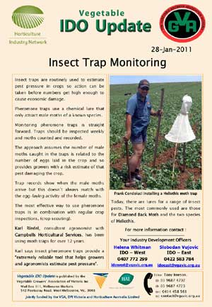 Insect Trap Monitoring