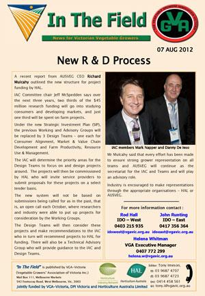 New R&D Process