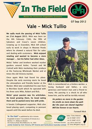 Vale - Mick Tullio