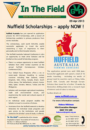 Nuffield Scholarships 2014 - Apply Now