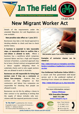 New Migrant Worker Act