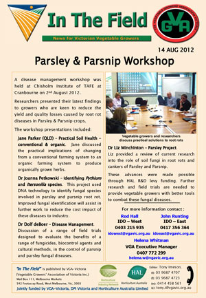 Parsley & Parsnip Workshop