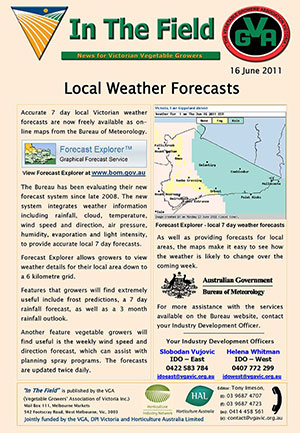Local Weather Forecasting