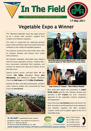 Vegetable Expo a Winner