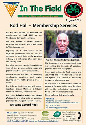 Rod Hall - Membership Services
