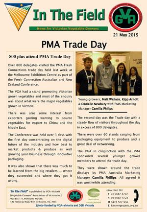 PMA Trade Day 2015