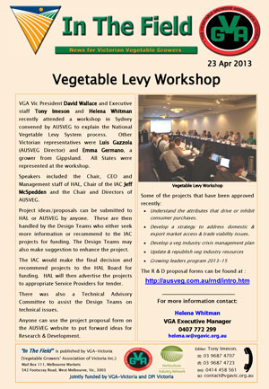 Levy Meeting