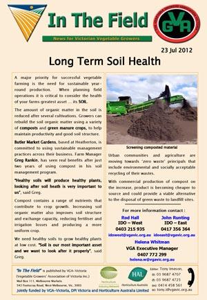 Long Term Soil Health