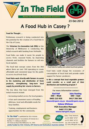 A Food Hub in Casey ?