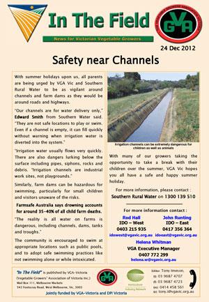 Safety near Channels