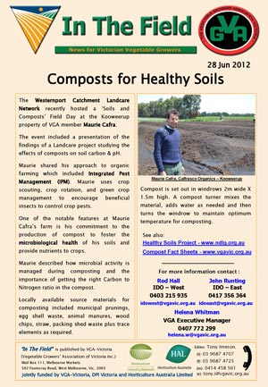 Composts for Healthy Soils