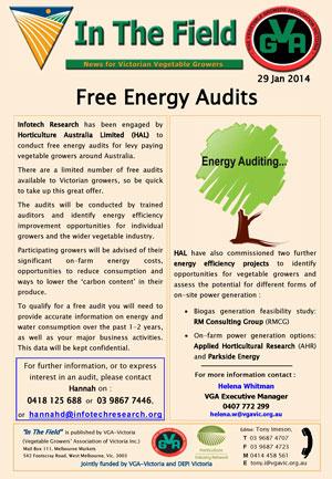 Free Energy Audits