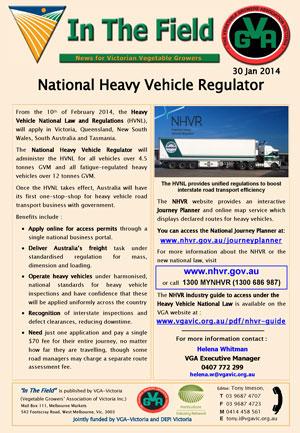 National Heavy Vehicle Regulator