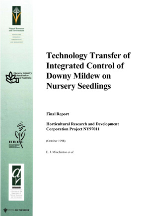 Technology Transfer of Integrated Control of Downy Mildew on Nursery Seedlings