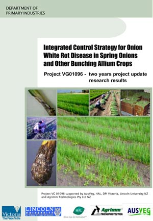 Integrated Control Strategy for Onion White Rot Disease in Spring Onions and Other Bunching Allium Crops