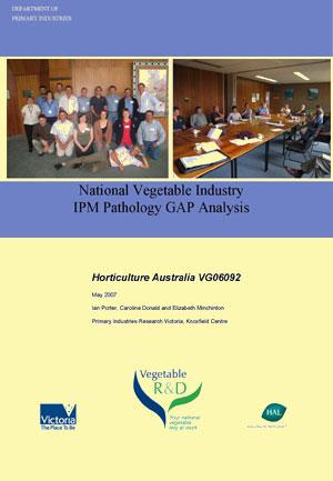 Vegetable pathogens - gap analysis - 2007