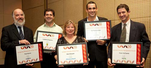 Veg Industry Winners 2009