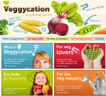 Veggycation - Promoting the Health Benefits of Vegetables
