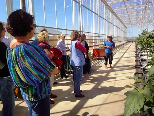 Women in Horticulture tour