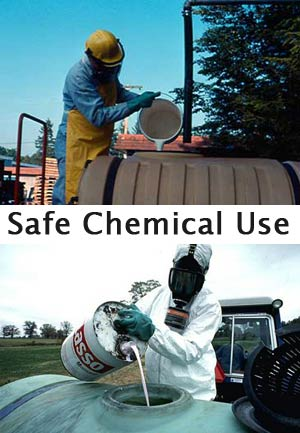 Mixing chemical