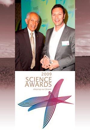Vital Vegetables win 2009 DPI Science Award