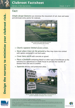 Clubroot Factsheet