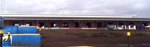 Epping Market under construction