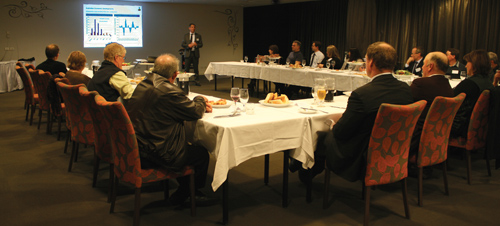 Rabobank Hosts Industry Dinner